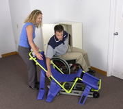 Garaventa Evacuation chair easy to transfer